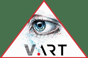 Logo V&ART Gallery Cyprus