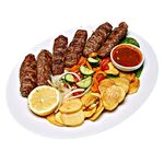 Lulya kebab from lamb