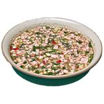 Soup okroshka with kvass
