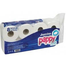 Pappy soft jumbo toilet roll