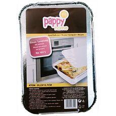 Foil baking trays