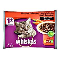 Whiskas in gravy