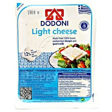 Dodoni light feta cheese
