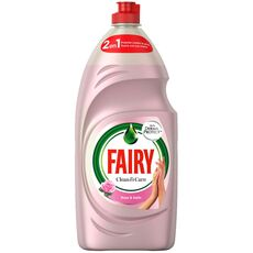 Fairy Clean & Care Washing Up Liquid Rose & Satin, 383ml
