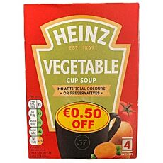 Heinz vegetable cup soup 76g (4x19g)