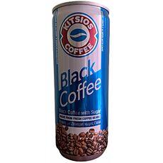 Kitsios Black Coffee with Sugar 240ml