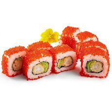 Red shrimp uramaki 8 pcs.