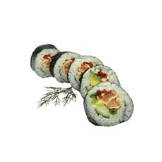 Grill salmon futomaki 5 pcs.