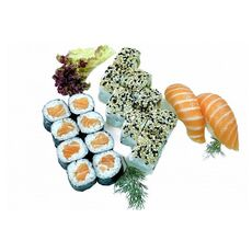 Salmon sushi set (18 pcs.)