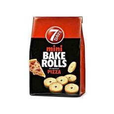 7 days mini bake rolls pizza