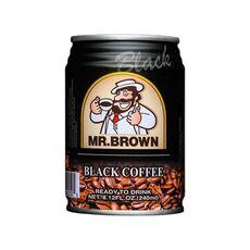Mr. Brown Black Coffee