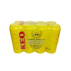 Beer KEO 8x500ml