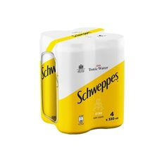 Schweppes Zero Tonic Water 4x330ml