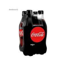 Coca Cola Zero Refreshment Pet 4x500ml