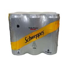 Schweppes Soda Water 6x330ml