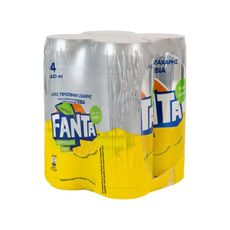 Fanta Zero Lemonade Stevia 4x330ml