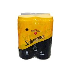 Schweppes Tonic Water 4x330ml