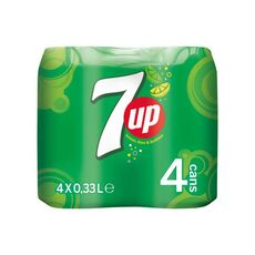 7up Regular Imported 4x33ml