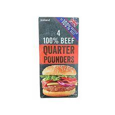 Beef Burger 454g