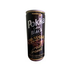 Pokka Black Coffee no sugar 240ml