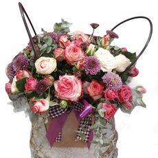 Seasonal flower bouquet