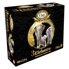 Black Tea Three Elephants 2,5 g x 100 pcs