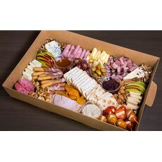CHEESE & MEAT PLATTER FOR 10-15 PEOPLE