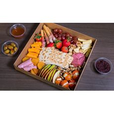 CHEESE & MEAT PLATTER FOR 6-8 PEOPLE