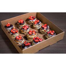 MINI PANCAKES CHEESE CAKE OREO