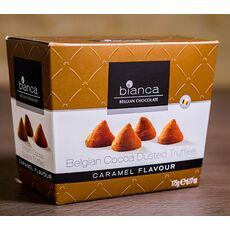 BELGIAN COCOA DUSTED TRUFFLES CARAMEL FLAVOUR