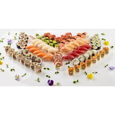 Party sushi set 80 pcs