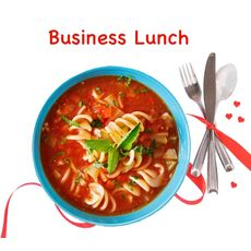 Business lunch Soups