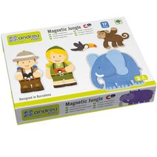 Magnetic game – Jungle
