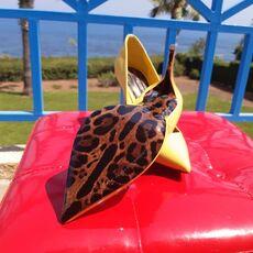 Dolce & Gabbana women's shoes yellow 01