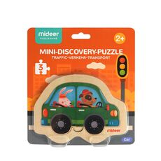 Mini discovery puzzle car