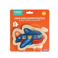 Mini discovery puzzle plane