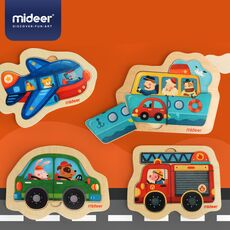 Mini discovery puzzle fire engine