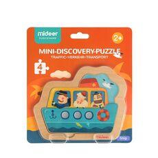Mini discovery puzzle ship