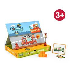 Magnetic traffic game