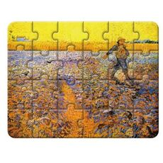 Artist Puzzle - Sower With Setting Sun