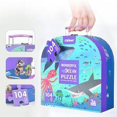 Wonderful ocean,gift box puzzle