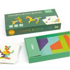 Colorful block buddies