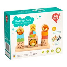 DAY & NIGHT WOODEN TOY SET 01