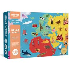Hello world magnetic Toys Game