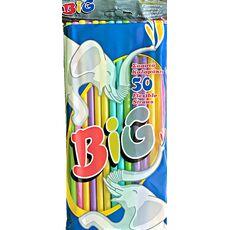 Dims Big Flexible Straws 50pcs