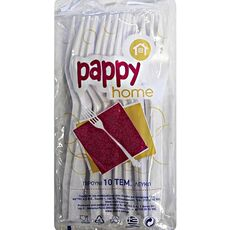Pappy Home disposable plastic forks