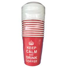 Dimexsa set of paper cup with lid
