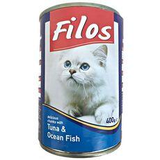 Filos Cat Food Tuna and Ocean Fish
