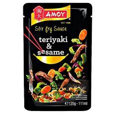 Amoy Stir Fry Sauce Teriyaki & Sesame 120 g