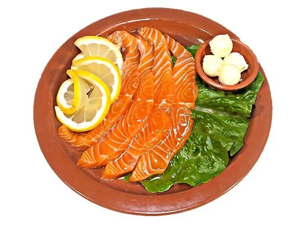 Soft Salted Salmon
